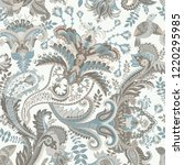 vector paisley pattern. indian... | Shutterstock .eps vector #1220295985