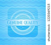 genuine quality water... | Shutterstock .eps vector #1220369215