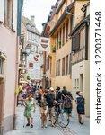 strasbourg  france   july 13 ...   Shutterstock . vector #1220371468