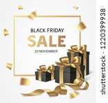 black friday sale design... | Shutterstock .eps vector #1220399938