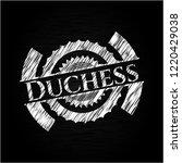 duchess with chalkboard texture | Shutterstock .eps vector #1220429038