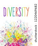 diversity and inclusion concept.... | Shutterstock .eps vector #1220469682