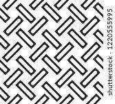 seamless woven stripes lattice...   Shutterstock .eps vector #1220555995
