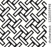 seamless woven stripes lattice...   Shutterstock .eps vector #1220555998