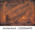 rusty metal  corrosion on steel ... | Shutterstock . vector #1220566495
