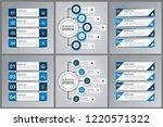 modern infographic choice...   Shutterstock .eps vector #1220571322