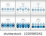 unique infographics template | Shutterstock .eps vector #1220585242