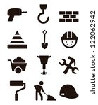 brickwork,brush,build,builder,bulldozer,carpenter,cement,collection,concrete,construction construction sign,crane,crane truck,drill,elevator,engineer