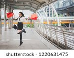 lifestyle shopping concept ... | Shutterstock . vector #1220631475