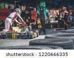 attata thailand may 20  go kart ... | Shutterstock . vector #1220666335
