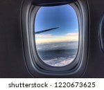 view of a winglet in the sky... | Shutterstock . vector #1220673625