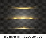 white glowing light explodes on ... | Shutterstock .eps vector #1220684728