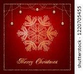illustration of christmas...   Shutterstock .eps vector #1220705455