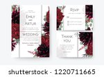 wedding invite  invitation card ... | Shutterstock .eps vector #1220711665