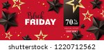 black friday sale banner layout ... | Shutterstock .eps vector #1220712562