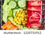 dietary  healthy meal in a... | Shutterstock . vector #1220731912