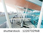 da nang international airport ... | Shutterstock . vector #1220732968