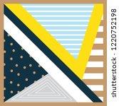 decorative scarf pattern design | Shutterstock .eps vector #1220752198