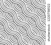 abstract wave pattern with... | Shutterstock .eps vector #1220758522