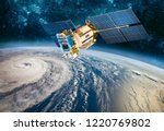 Space satellite monitoring from ...
