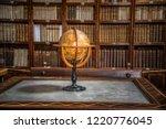 library  encyclopedias  books ... | Shutterstock . vector #1220776045