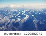 top view of tiansan mountain... | Shutterstock . vector #1220802742