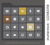 modern information icons for...