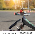 karting competitions  a karting ...   Shutterstock . vector #1220831632