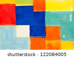 colorful texture and design of... | Shutterstock . vector #122084005