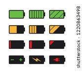 black battery charge indicator...