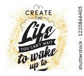 inspirational quote  motivation.... | Shutterstock .eps vector #1220866405