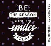 inspirational quote  motivation.... | Shutterstock .eps vector #1220867512
