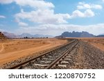 red mountains of the canyon of... | Shutterstock . vector #1220870752