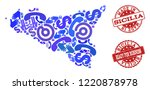 business contacts combination...   Shutterstock .eps vector #1220878978