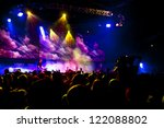 concert people crowd | Shutterstock . vector #122088802