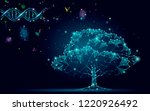 dna evolution abstract tree.... | Shutterstock .eps vector #1220926492