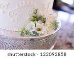 wedding cake detail | Shutterstock . vector #122092858