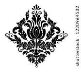 vector damask element. isolated ... | Shutterstock .eps vector #1220964532