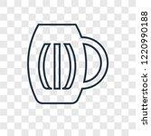 pint of beer concept vector... | Shutterstock .eps vector #1220990188