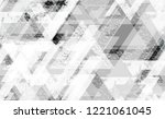 tech geometric camouflage... | Shutterstock .eps vector #1221061045