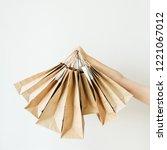 black friday sales discount... | Shutterstock . vector #1221067012