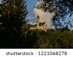 schloss neuschwanstein in...   Shutterstock . vector #1221068278