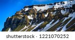 panorama rock. this geological... | Shutterstock . vector #1221070252