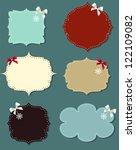 set of different speech bubbles ... | Shutterstock .eps vector #122109082