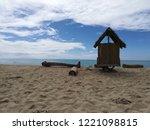 watcher's bay view | Shutterstock . vector #1221098815
