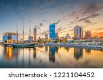 milwaukee  wisconsin  usa... | Shutterstock . vector #1221104452