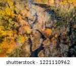aerial drone image of colorful...   Shutterstock . vector #1221110962