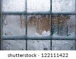 Winter Window  Drops Of Water...