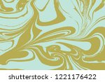 suminagashi the ancient art of... | Shutterstock .eps vector #1221176422