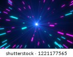 Abstract Multicolored Blasts O...